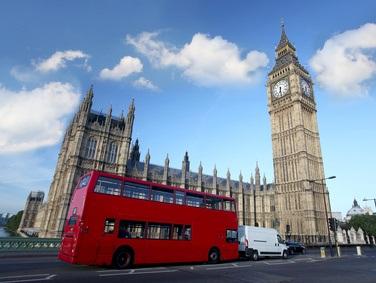 London Stadtrundfahrt Doppeldeckerbus