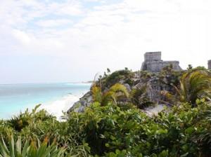 Maya-Bauten in Tulum