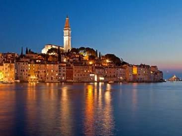 Rovinj auf der Halbinsel Istrien in Kroatien