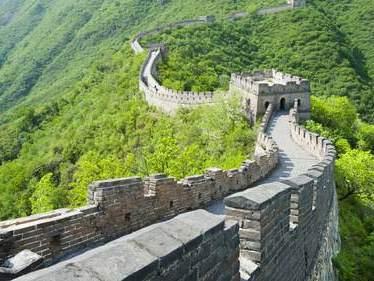 Sehenswürdigkeiten in China - chinesische Mauer