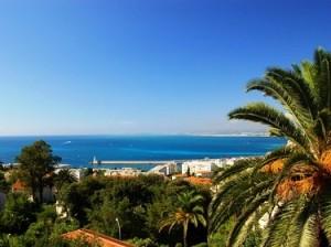 Sommerurlaub in Nizza an der Côte d'Azur in Frankreich