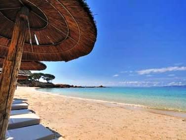 Strand von Palombaggia auf Korsika