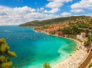 Strandurlaub in Frankreich an der Cote d'Azur