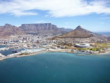 Tafelberg in Kapstadt Südafrika