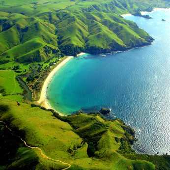 Taupo Bay Neuseeland