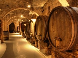 Weinprobe beim Winzer im Schwarzwald