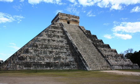 Maya Pyramide Chichen Itza